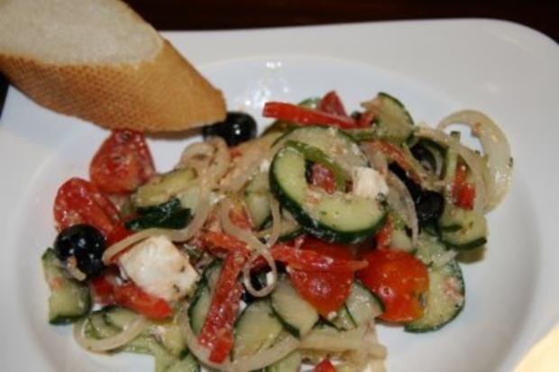 Vorspeise: Griechischer Sommer-Salat - Rezept