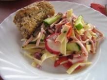 Käse-Wurst-Salat - Rezept