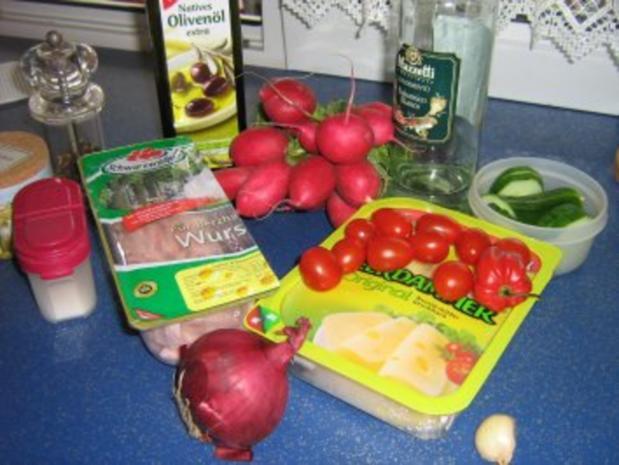 Käse-Wurst-Salat - Rezept - Bild Nr. 2
