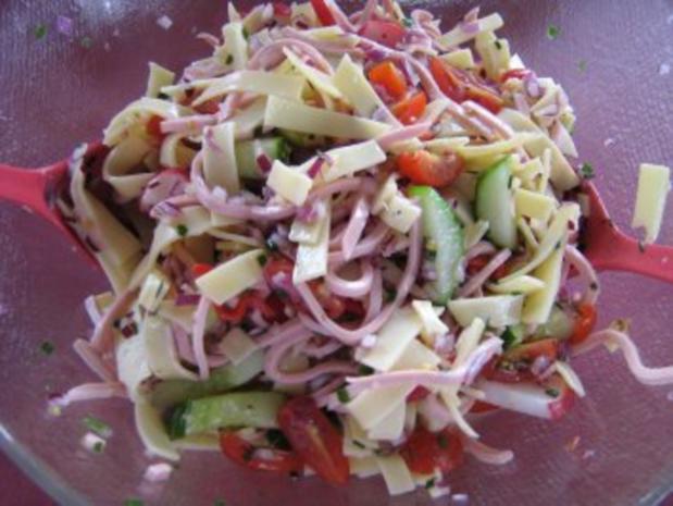 Käse-Wurst-Salat - Rezept - Bild Nr. 4