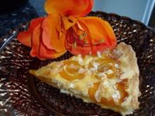 Aprikosen-Tarte - Rezept