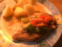 Paprika-Schnitzel - Rezept