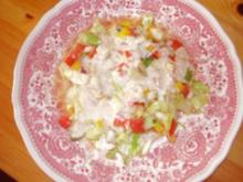 Frischer bunter Sommer Salat + Senfdressing - Rezept