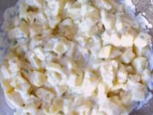 Salat: Kartoffel-Eier-Salat - Rezept