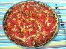Tarte  a` la tomate - Rezept