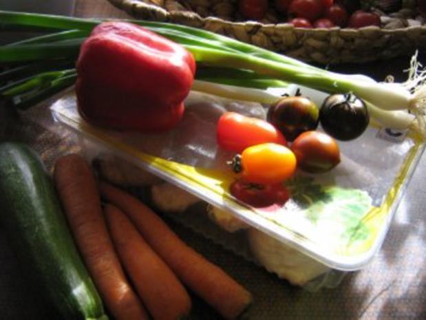 Hähnchenschenkelpfanne mit mediterenem Gemüse - Rezept - Bild Nr. 2
