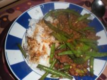 Fleisch: Rinderhack asiatisch - Rezept