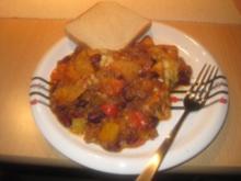Chili con Carne - überbacken - Rezept