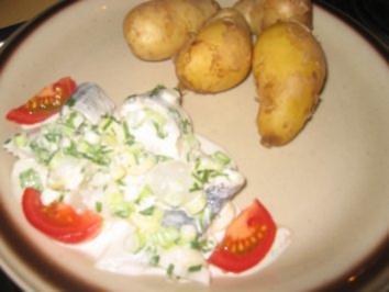 Rezept: Salat: Bismarckhering Salat...