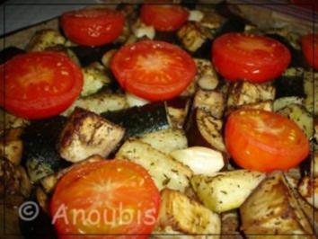 Hauptgericht vegetarisch - Ofengemüse - Rezept