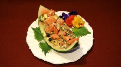 Hawaiianischer Wassermelonensalat (Estefania Küster) - Rezept