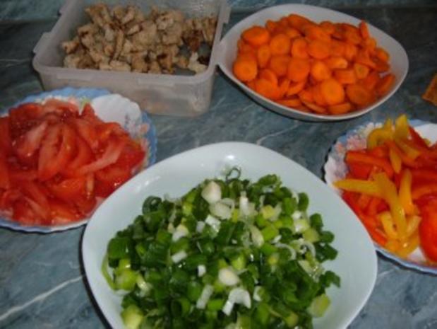 Gemüse-satt......für alle Jubilare und Geb.-Kinder im August - Rezept - Bild Nr. 3