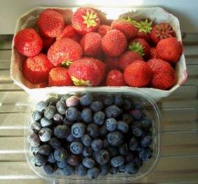 Einmachen: Heidelbeer-Erdbeer - Samt-Marmelade - Rezept