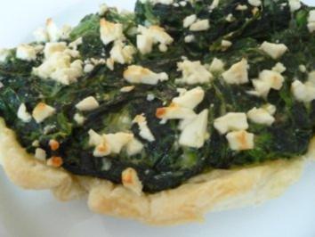 Fischfilet - Spinat - Eckchen - Rezept