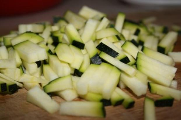 Muffins: Vollkornmuffins mit Zucchini und Kürbiskernen - Rezept - Bild Nr. 3