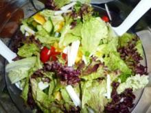 Salate: Bunter Salat - Rezept