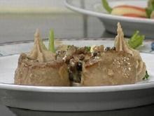 Schweinefilet mit Pfifferlingen und Kartoffel-Maronen-Püree - Rezept