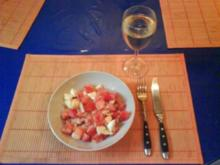 Salat: Tomatensalat mit Ei - Rezept