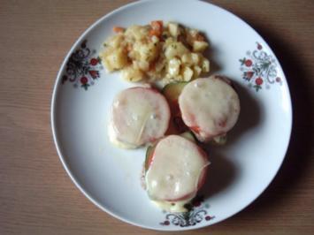 Schweinemedaillons gratiniert - Rezept