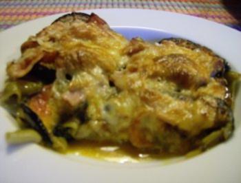 Lasagne de la melanzane - Rezept