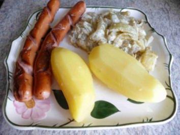 Gemüsebeilage : Schmorgurken - Rezept