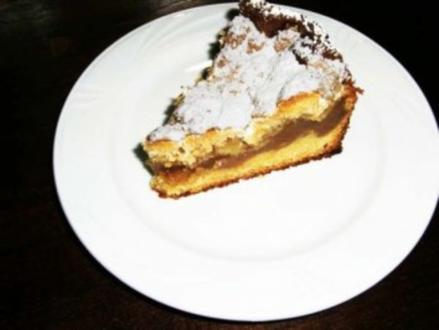 Apfelmus-Streusenkuchen - Rezept