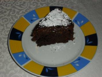 Kleiner Schokoladen-Walnuss-Kuchen - Rezept