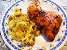 Hähnchenschenkel aus dem Ofen ... - Rezept