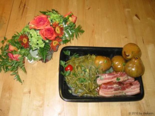 Hauptgericht Birnen, Bohnen und Speck - Rezept - Bild Nr. 2
