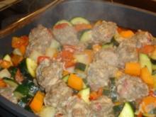 sommerlicher Gemüse-Hackfeisch-Topf - Rezept