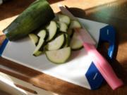 Zucchin-iTomaten Gemüse mit Schalotten und Kräutern Bildern sind online !!!! - Rezept