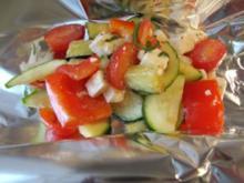 Gemüse-Feta-Grillpäckchen - Rezept