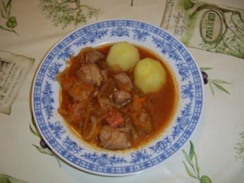 Rezept: Szegediner Geflügelgulasch