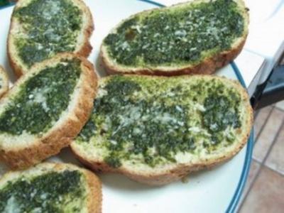 Crostini mit Rucola - Rezept