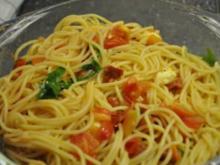 Sommer-Spaghettini - Rezept