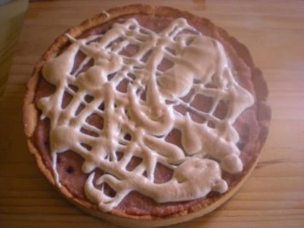 Kuchen: Apfelmuskuchen mit Preiselbeeren - Rezept - Bild Nr. 4