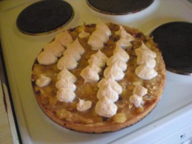 Kuchen: Apfelmuskuchen mit Preiselbeeren - Rezept - Bild Nr. 2