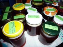 Marmelade: Himbeergelee mit Schlehenfeuer - Rezept