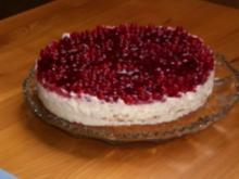 Johannisbeer-Walnuss-Torte - Rezept
