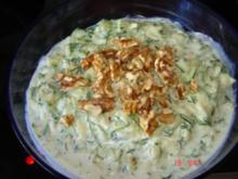 Zucchini- Dill Joghurt (Meze) - Rezept