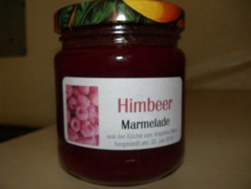 M+G:  HIMBEER - MARMELADE..... ohne Frucht-Körnchen - Rezept