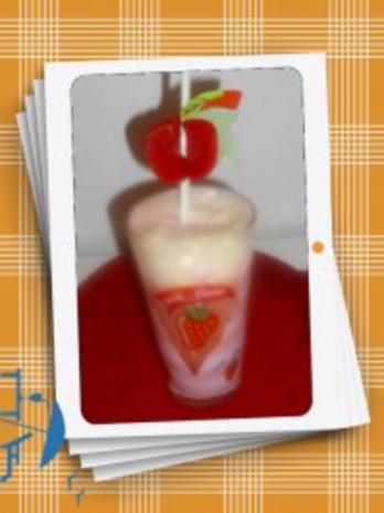 Limoneneis mit Erdbeeren - Rezept