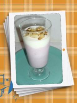 Preiselbeer-Mandel-Dessert - Rezept