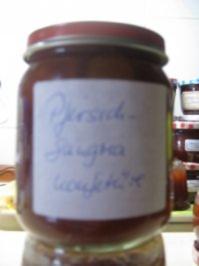 Pfirsich-Sangria Konfitüre - Rezept