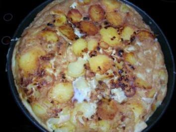Tortilla de Patatas - als Beilage zu meinem Duroc Schwein - Rezept