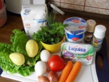 Rösti mit Kartoffeln, Karotten, Schalotten und Mangold  OHNE KNOBI - Rezept