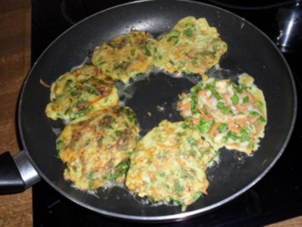 Rösti mit Kartoffeln, Karotten, Schalotten und Mangold  OHNE KNOBI - Rezept - Bild Nr. 5