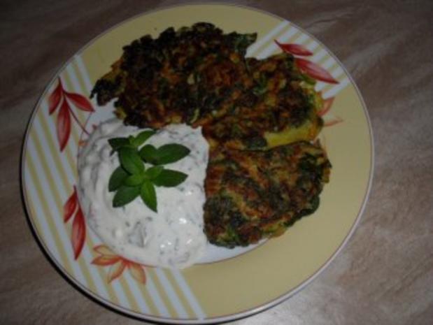 Rösti mit Kartoffeln, Karotten, Schalotten und Mangold  OHNE KNOBI - Rezept - Bild Nr. 6