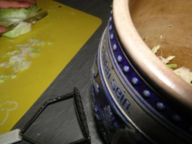Spitzkohlsalat mit Möhren und Paprika         (Foto) - Rezept - Bild Nr. 5