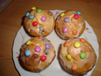 Muffins mit Smarties - Rezept
